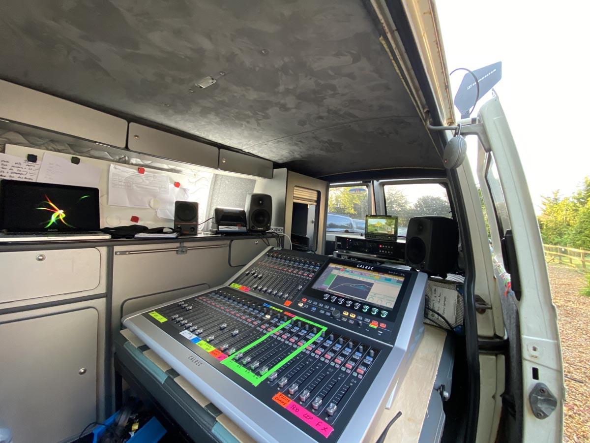 06 - Paul Cutler - Captain Tom - Calrec Brio - Synthax Audio UK