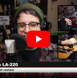 Lauten Audio LS-220 Microphone - Podcastage Review - Synthax Audio UK