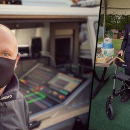 Paul Cutler - Captain Tom Moore - Calrec Brio 36 - Synthax Audio UK