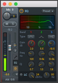 RME TotalMix FX - EQ - Synthax Audio UK