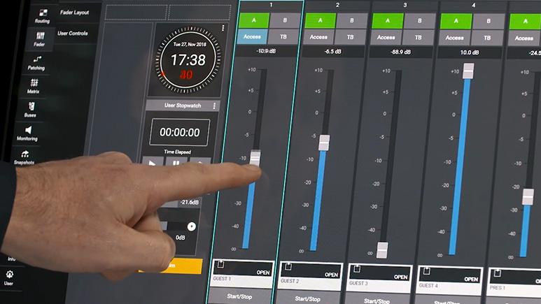 Calrec Assist - Screenshot