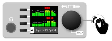 RME AVB Tool - Front Panel Display - Synthax Audio UK