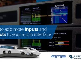 How to add more inputs & outputs - audio interface - Synthax Audio UK