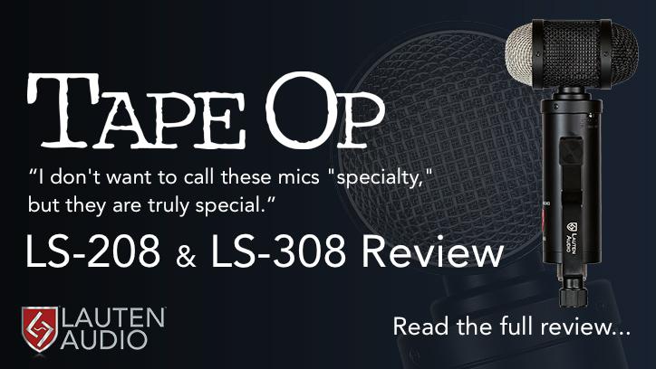 Lauten Audio LS-208 - 308 - Tape Op Review - Synthax Audio UK