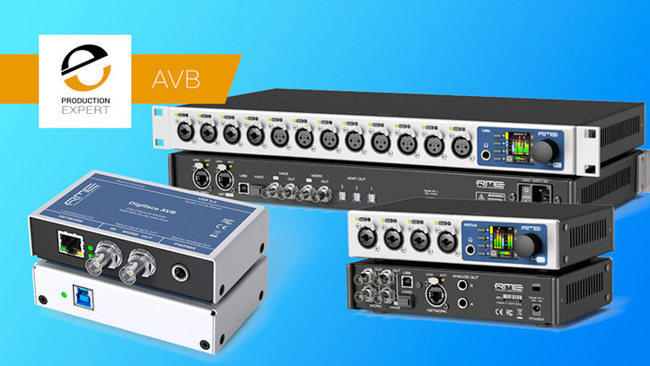 Pro Tools Expert - RME 12Mic AVB Review - Synthax Audio UK