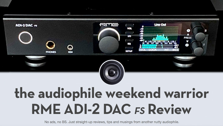 RME ADI-2 DAC TAWW Review - Synthax Audio UK