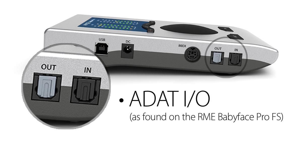 RME Babyface Pro FS - ADAT IO - Synthax Audio UK