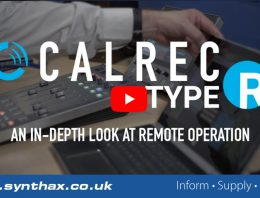 Calrec Type R - Remote Operation In-Depth Video - Synthax Audio UK