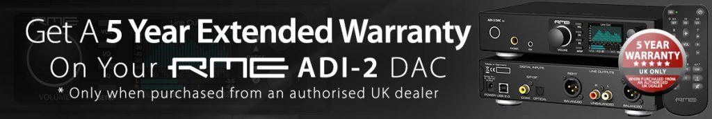 RME ADI-2 DAC FS - 5 Year Warranty - Synthax Audio UK