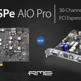 RME HDSPe AIO Pro - Synthax Audio UK