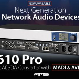 RME M-1610 Pro - Now Available - Synthax Audio UK