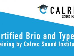 Free online Calrec Training for Brio and Type R - Synthax Audio UK