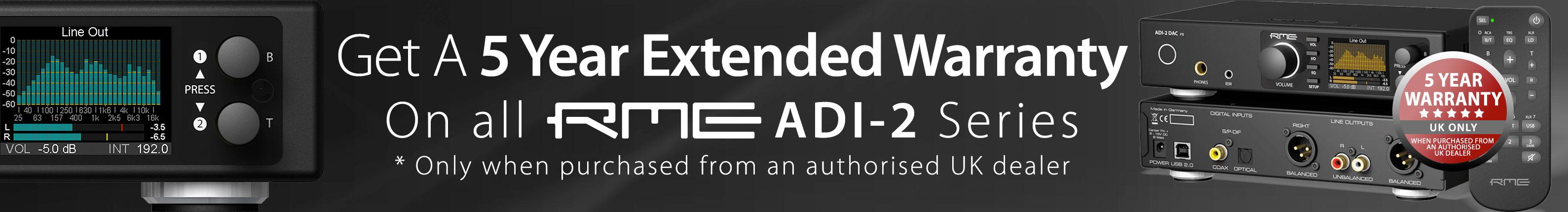 RME ADI-2 DAC - 5 Year Warranty - V2 - Synthax Audio UK