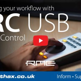 RME ARC USB Tutorial - Pt 1 - Monitor Controller - Synthax Audio UK
