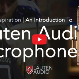 Crafting Inpiration - Lauten Audio Microphones - Synthax Audio UK