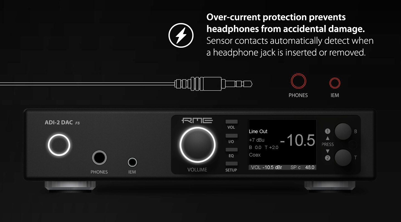 RME ADI-2 DAC - Overload Protection