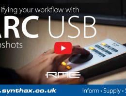 RME ARC USB - Snapshots Tutorial - Synthax Audio UK