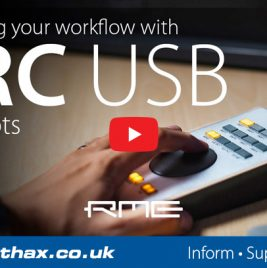 RME ARC USB - Snapshots Tutorial - Synthax Audio UK