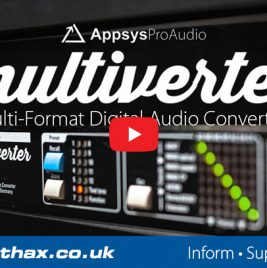 Appsys Multiverter MVR-64 SRC Video - Synthax Audio UK