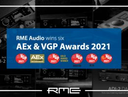 RME Audio - AEx & VGP Awards 2021 - Synthax Audio UK