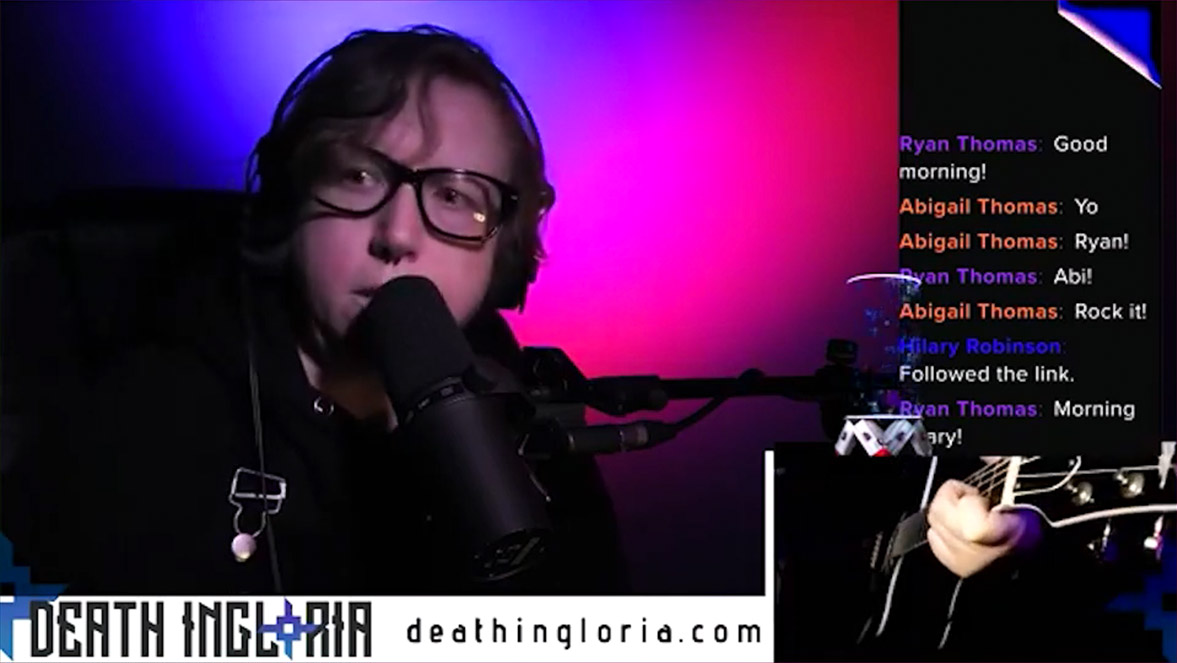 RME_Fireface_UFX+_Death_Ingloria_Galina_Rin_Live_Stream_Synthax_Audio_UK