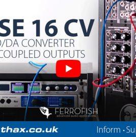 Ferrofish Pulse 16 CV - Wordpress Feature Image - Synthax Audio UK