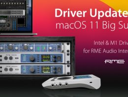 RME Audio - Mac OS 11 Big Sur Drivers - Intel & M1 - Synthax Audio UK
