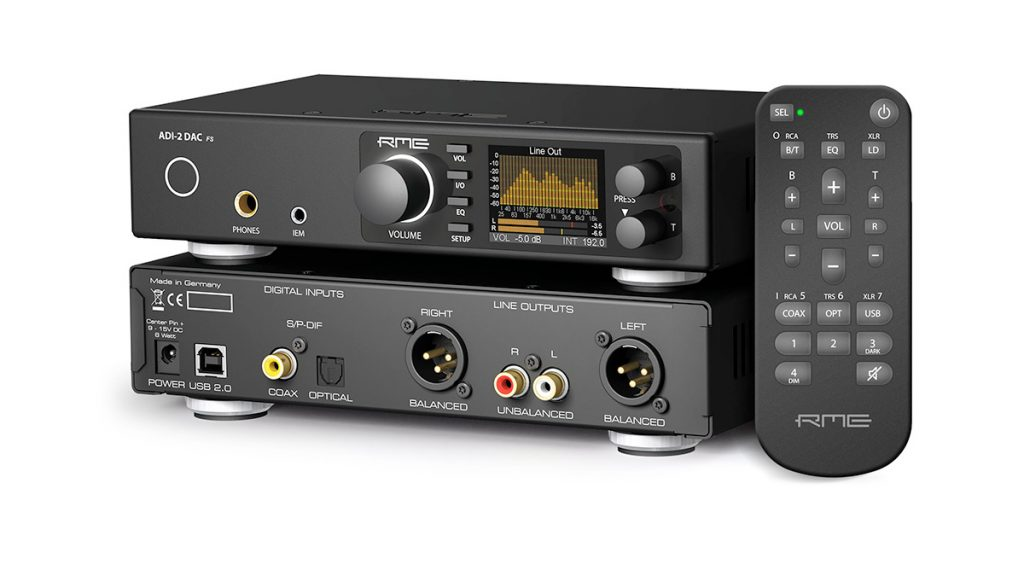 RME ADI-2 DAC FS - Perspective - Synthax Audio UK