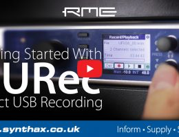 RME Audio DURec Tutorial - Standalone hard disk recording - Synthax Audio UK