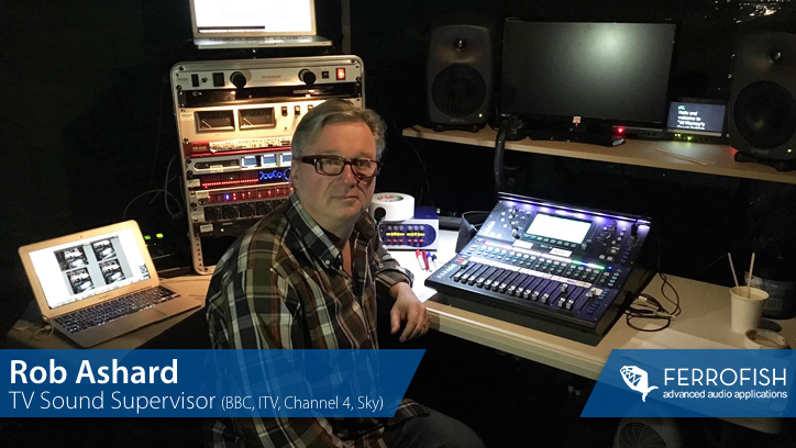 Rob Ashard - Ferrofish A32 Dante - Main Image - Synthax Audio UK