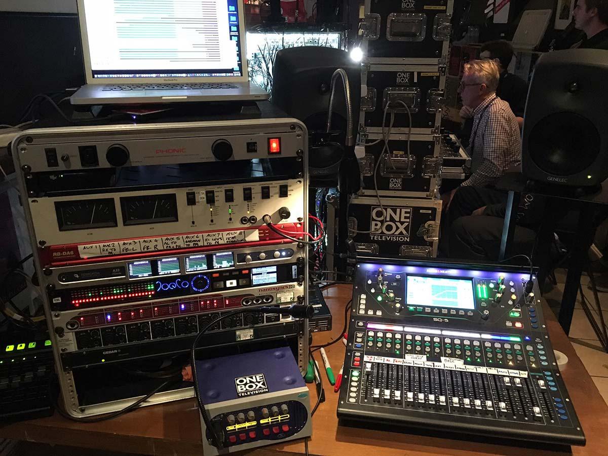 Rob Ashard - Full setup - Ferrofish A32 Dante