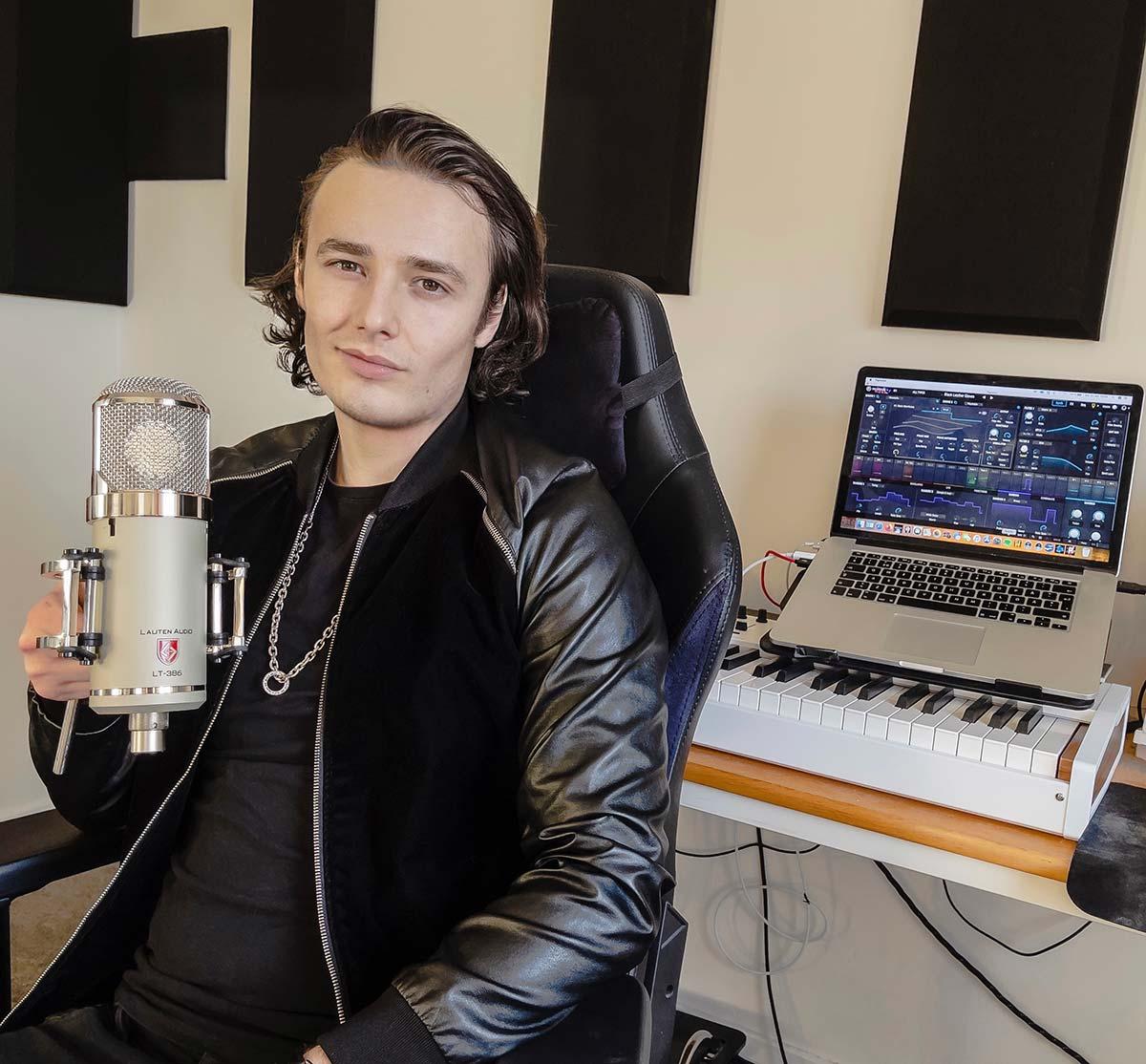 David Dosi - Lauten Audio Eden Microphone - 01 - Synthax Audio UK