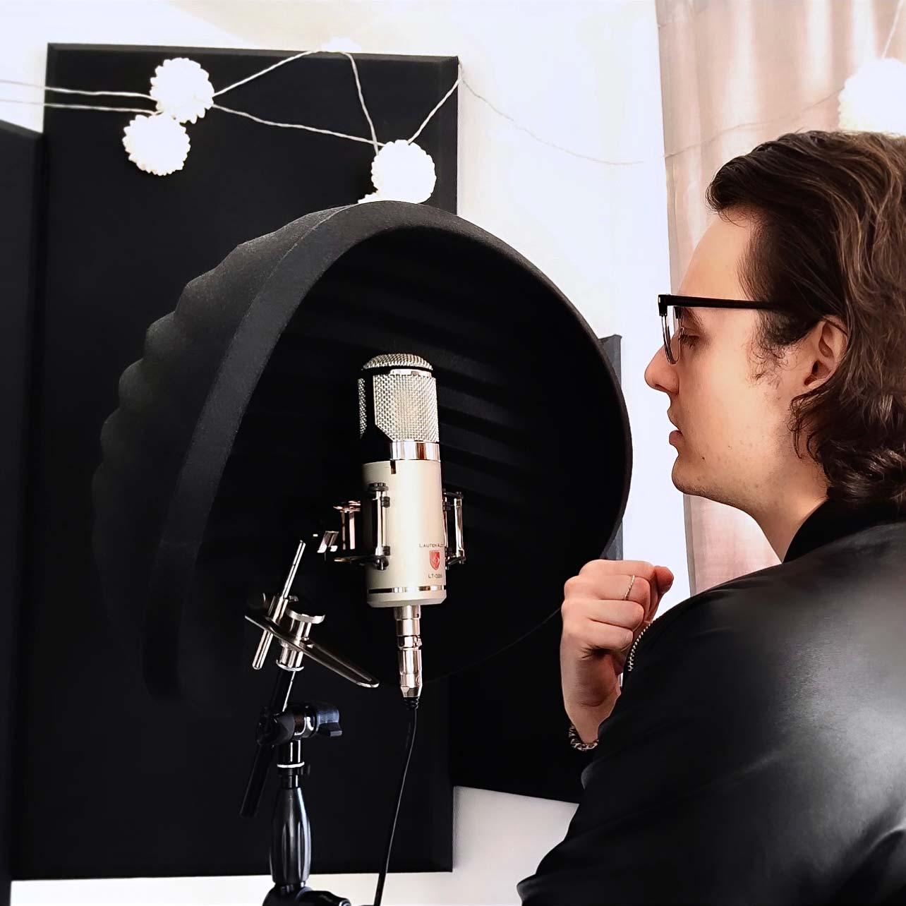 David Dosi - Lauten Audio Eden Microphone - 02 - Synthax Audio UK