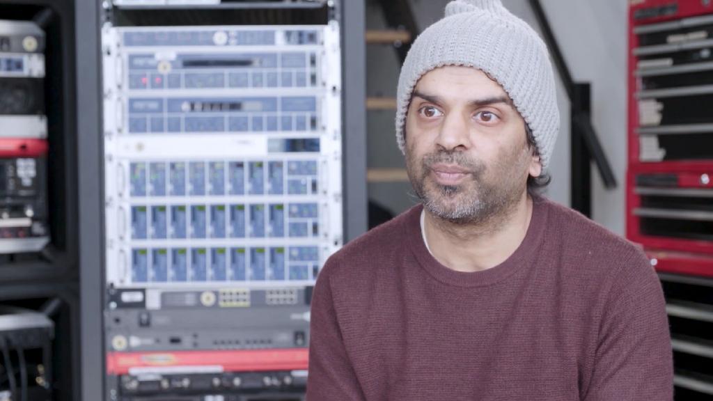 Pete Cowasji - RME DMC-842 - Synthax Audio UK