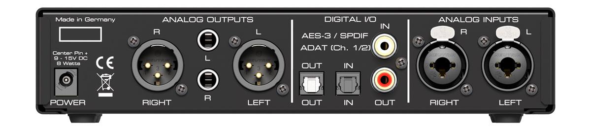 RME ADI-2 FS - Back Panel - Synthax Audio UK