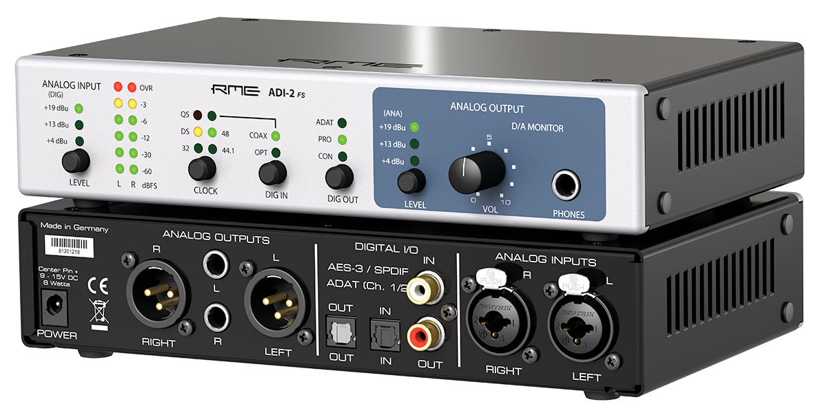 RME ADI-2 FS - Perspective - Synthax Audio UK