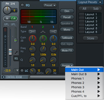 RME TotalMix FX - Output Assign - Synthax Audio UK