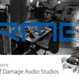 Faz Damage Audio - RME HDSPe MADI FX - Synthax Audio UK