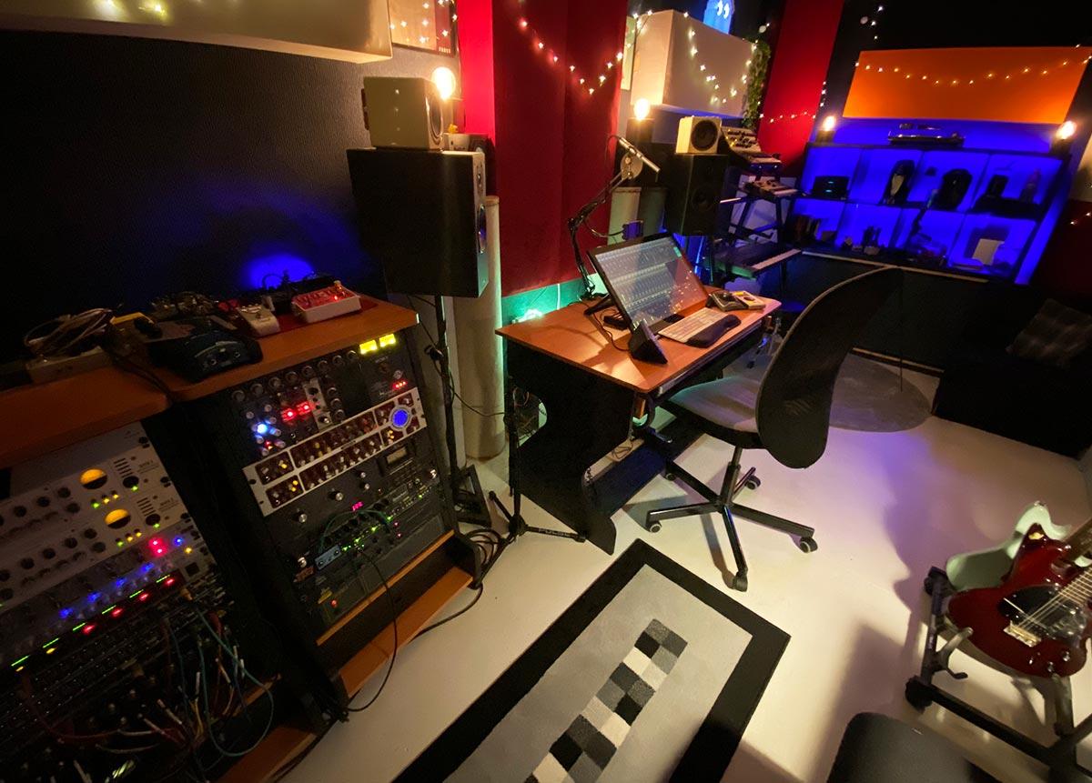 Faz Damage Audio - Studio - Synthax Audio UK