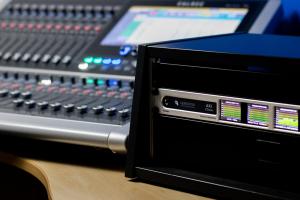 Ferrofish A32 Dante with Calrec Brio 36 - Synthax Audio UK