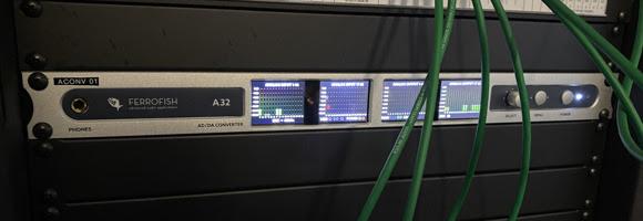 Ferrofish A32 - Temple University - Synthax Audio UK