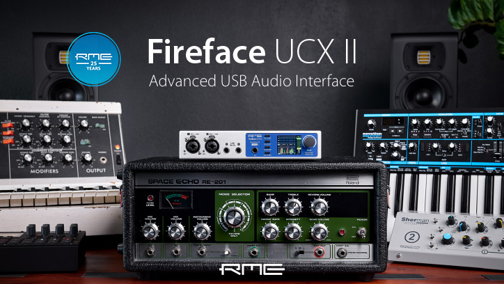 RME Fireface UCX II - Main Image - Synthax Audio UK