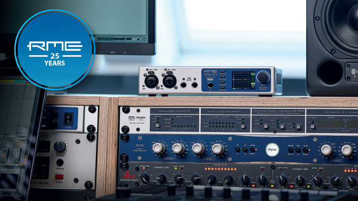 RME Fireface UCX II - News Story - Synthax Audio UK