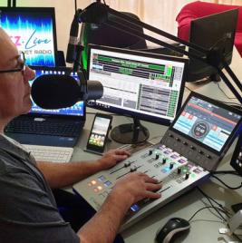Calrec Type R at Vibez Live Radio Station - Synthax Audio UK