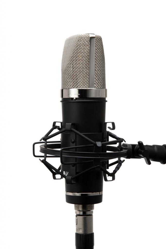 LA-220 in Shockmount Side - Synthax Audio UK