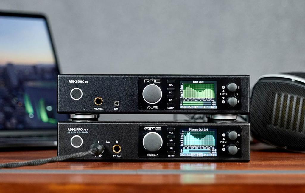 RME ADI-2 DAC FS and Pro FS R Blacked Edition