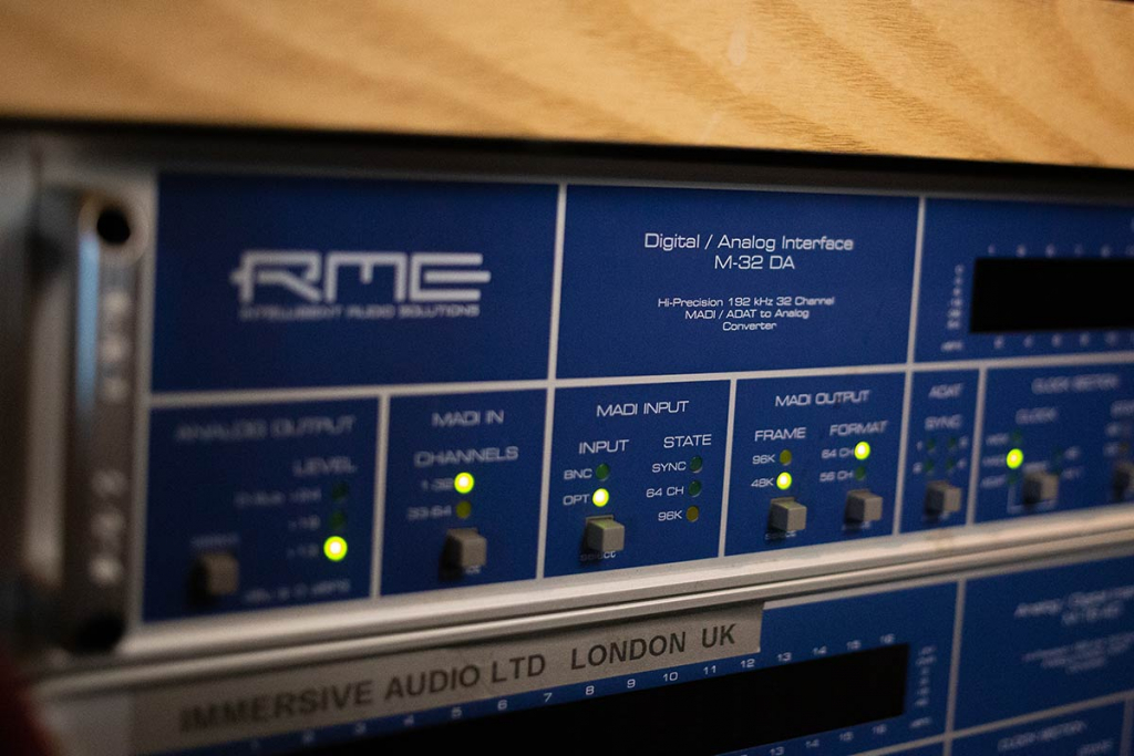 Marco Perry - RME M-32 DA Converter - Synthax Audio UK