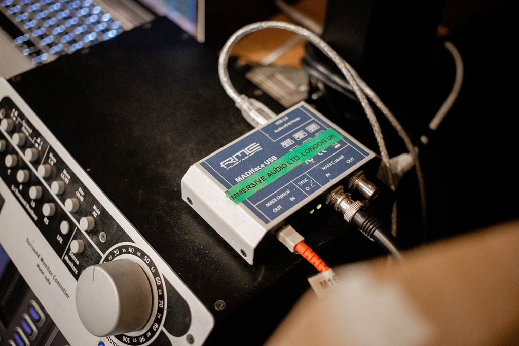 Marco Perry - RME MADIFace USB - Synthax Audio UK