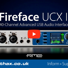 RME Fireface UCX II - Video Review - Synthax Audio UK