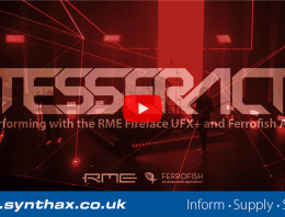 TesseracT - Featured Image - Synthax Audio UK
